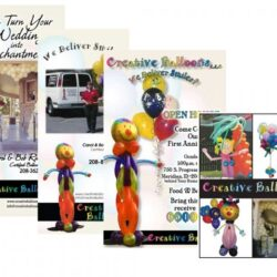 Creative Balloons of Idaho Collage