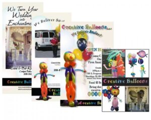 Creative Balloons of Idaho Collage