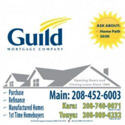 Guild Mortgage - Fruitland Office: Window Signage