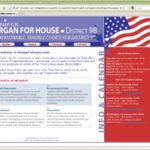 Morgan For House Website