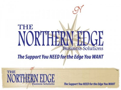Northern Edge Business Solutions Logo and Web Banner