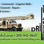 Nu Acre Drilling Business Card