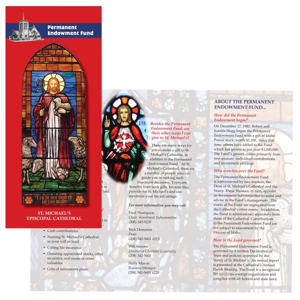 St. Michael's Episcopal Cathedral's Endowment Fund Brochure