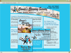 Connies Cleaning Service Collage