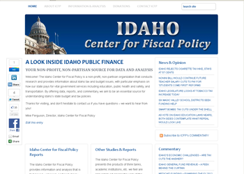 Idaho CFP - Website Design