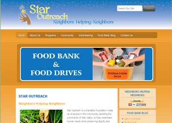 Star Outreach - Website Design