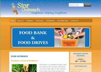 Star Outreach - Website Design